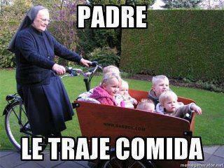 10- LA COMIDA DEL PADRE