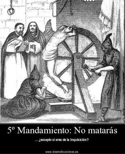 79- ELLOS MATAN, NO CUMPLEN EL QUINTO MANDAMIENTO