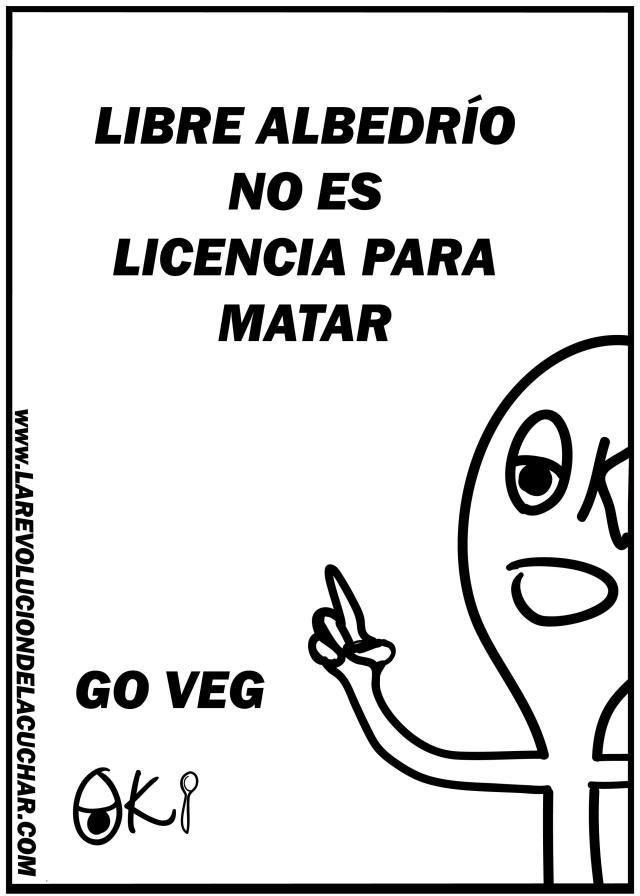 80- LIBRE ALBEDRIO NO ES...