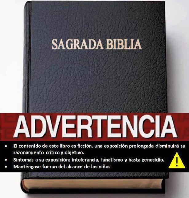 81- BIBLIA Y ADVERTENCIA